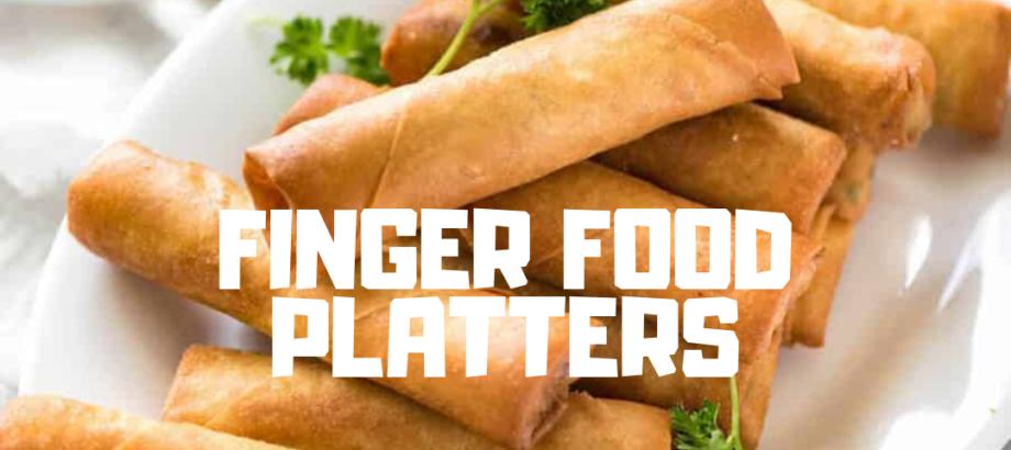 parties - finger food