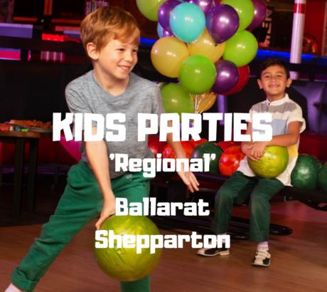 Kids Parties - Regional